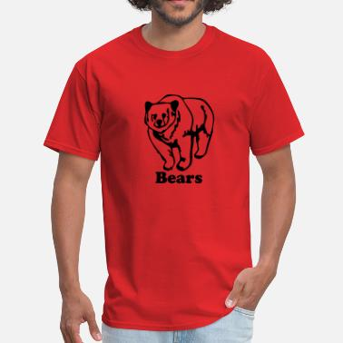Custom Bear bear - Men's T-Shirt