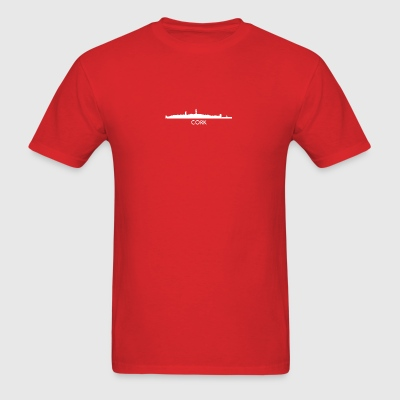 Cork Ireland Skyline - Men's T-Shirt