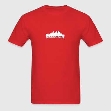 Arc Skyline Of Minneapolis MN - Men's T-Shirt