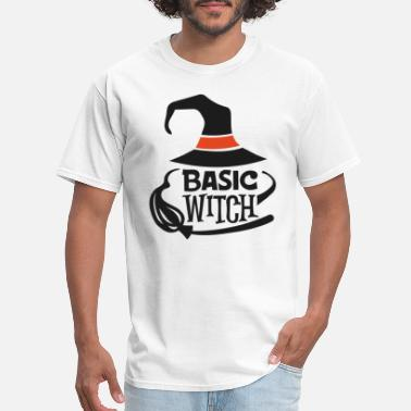 Shop Basic Witch Halloween T Shirts Online Spreadshirt