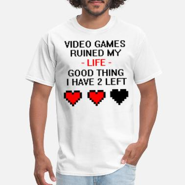 Gaming Video Games Ruined My Life - Men's T-Shirt