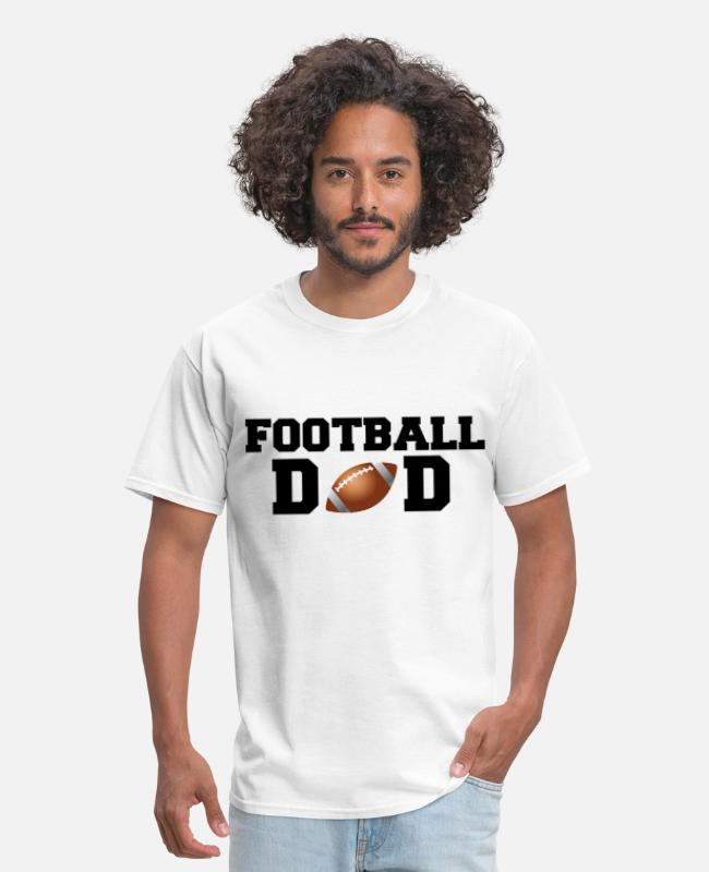 Father's Day T-Shirts - Football Dad - Men's T-Shirt white