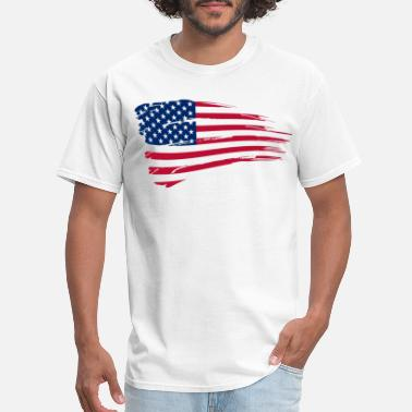Usa USA Flag - Men's T-Shirt