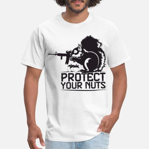 3f79c551 Grumpy T-Shirts - Protect Your Nuts Military Funny patriotic T Shirt - Men's  T. Do you want to edit the design?