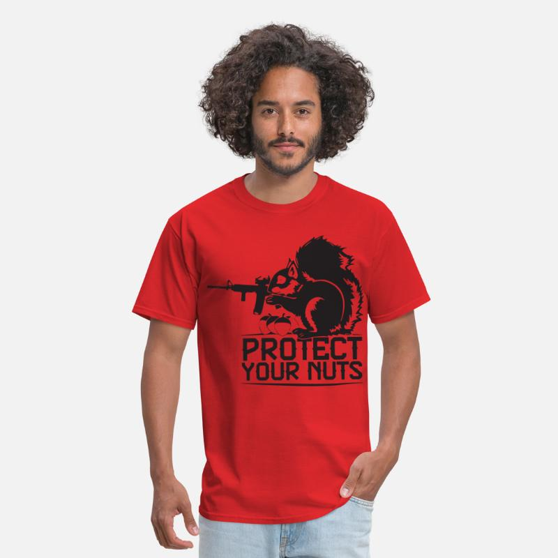 df3d3dff Protect Your Nuts Military Funny patriotic T Shirt Men's T-Shirt |  Spreadshirt