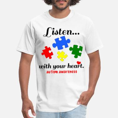 Funny Disney Inktastic Autism Awareness Youth Puzzle Pieces Tee - Men's T-Shirt