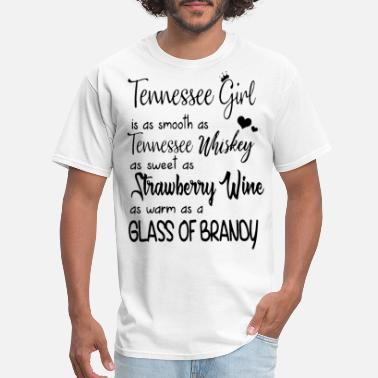 Brandie Sweet tennessee girl is as smooth as tennessee whiskey a - Men's T-Shirt
