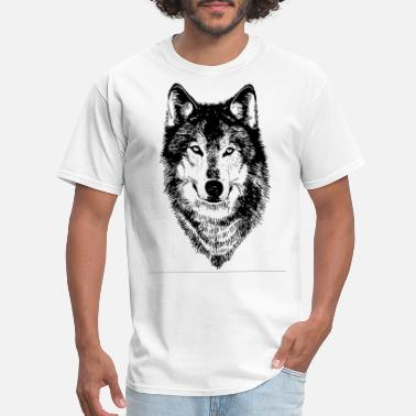 Wolf wolf Womens clothing wolf gifts timber wolf dog hu - Men's T-Shirt