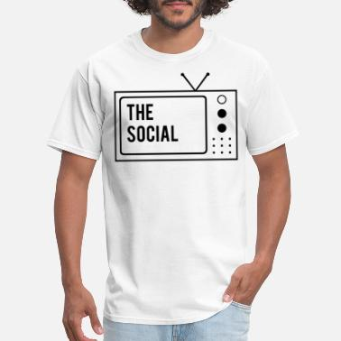 Tv Screen The Social Tv Screen - Men's T-Shirt