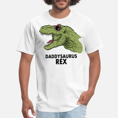 This Is What A Cool Father Looks Like Funny Father's Day Gift Idea - Daddysaurus Rex - Men's T-Shirt