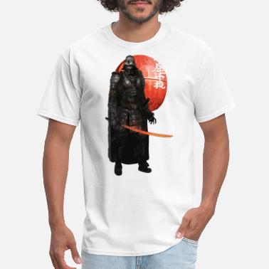 Saiyan SAMURAI strong men character history japanese - Men's T-Shirt