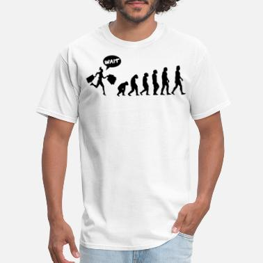 Shopping Frenzy Evolution Shopping Shop Buy - Men's T-Shirt