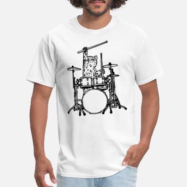 Drum Kit Solo Mens Funny T-Shirt Drummer Drumming Drums Sticks