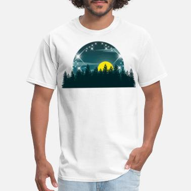 Starry Sky forest starry sky - Men's T-Shirt