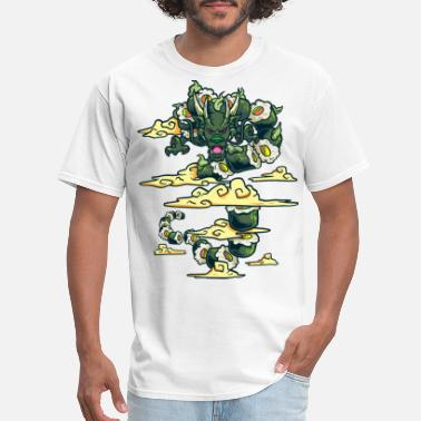 Japanese Art Sushi Dragon Japanese Art - Men's T-Shirt