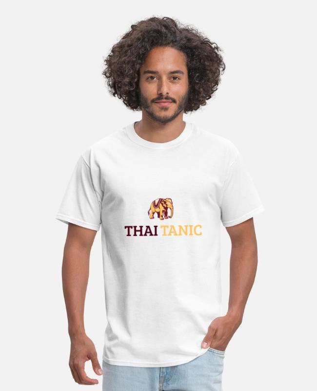 Quote T-Shirts - thaitanic - Men's T-Shirt white