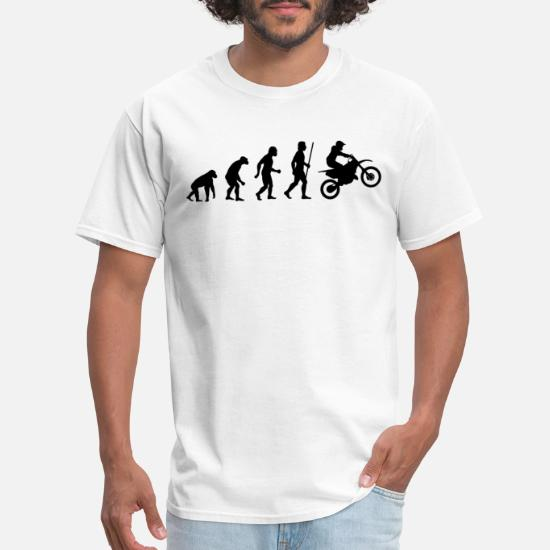 Evolution Dirtbike  Mens T-Shirt