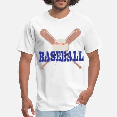 Baseball Bat Baseball with Bats - Men's T-Shirt