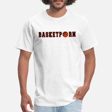 Porn Ball Sport Basketball Basketporn Ball Sport - Men's T-Shirt