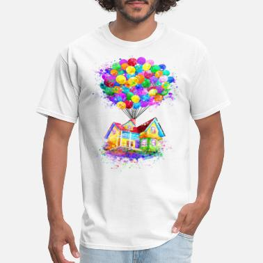 Balloon House Balloon - Premium T-shirt - Men's T-Shirt