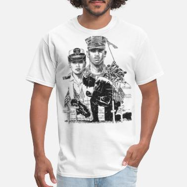 Memorial Day Armed Forces Memorial Day - Men's T-Shirt