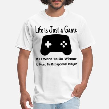 Succ Life Life is just a game To Be thé winner - Men's T-Shirt