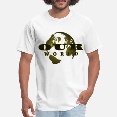 Record Label Our World - Men's T-Shirt