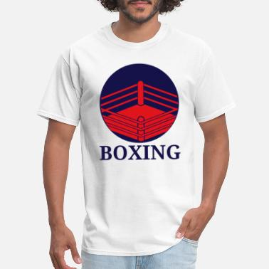 Boxe Sports Wear Boxing Fighter Ring Boxing Gloves Gift Boxer - Men's T-Shirt