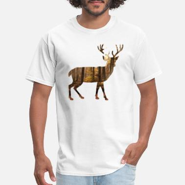 Rippa deer silhoutte - Men's T-Shirt
