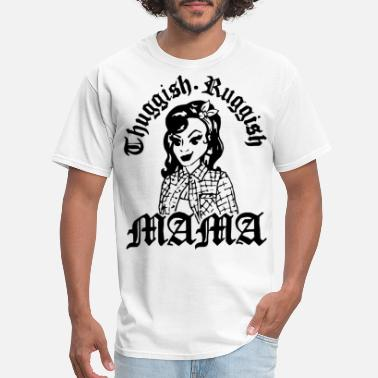 Kanye Bear Thuggish Ruggish Mama Trap Music Thug Wife Funny M - Men's T-Shirt