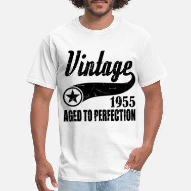 Age VINTAGE 1955 AGED TO PERFECTION,VINTAGE 1955, AGED - Men's T-Shirt