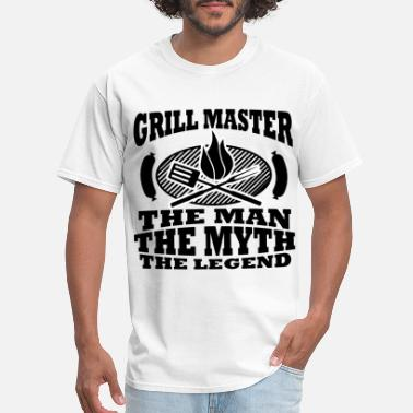 Bbq THE GRILL 12.png - Men's T-Shirt