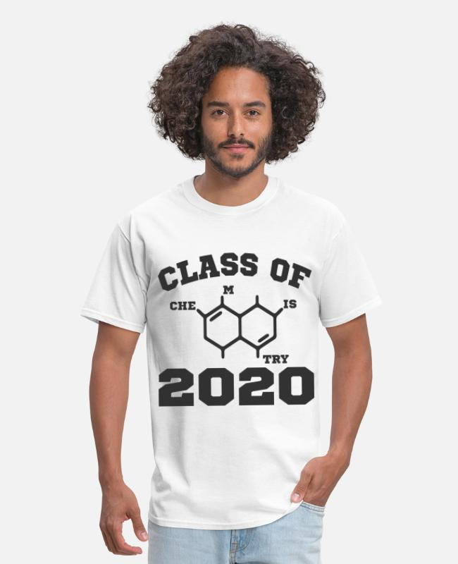 Class Of T-Shirts - CHEMISTRY 20201.png - Men's T-Shirt white