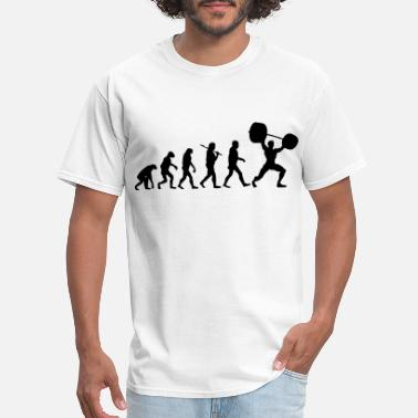 Evolution Evolution  - Weightlifter - Men's T-Shirt