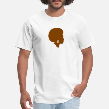 Girl Afro afro girl - Men's T-Shirt