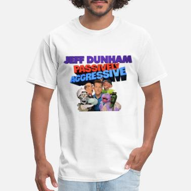 Basketball Cartoon Characters jeff dunha passively aggressive character film mov - Men's T-Shirt
