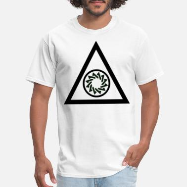 Triangle Circle triangle circle - Men's T-Shirt