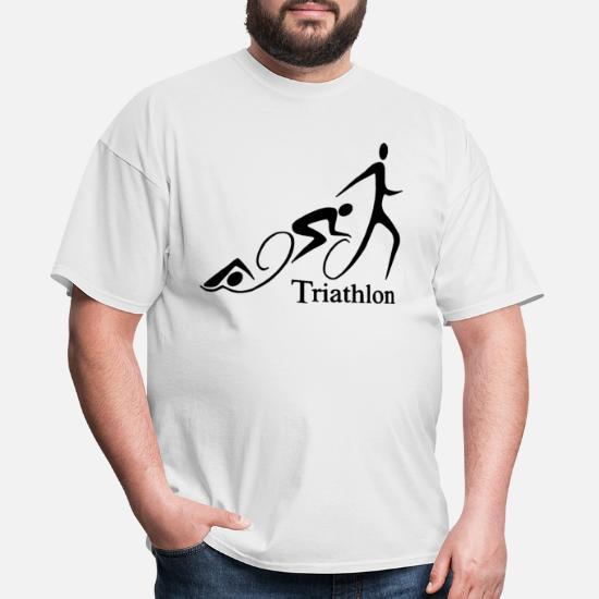 Triathlon Curly Mens Hoodie Cycling Running Swimming Ironman Sport Bike Kit