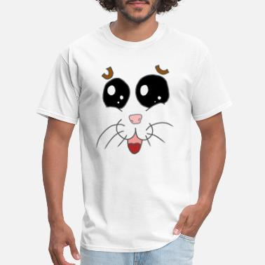 Goggley Eyes Hamster cute Face and Eyes - Men's T-Shirt