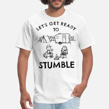 Fish lets get ready to stumble fish t shirts - Men's T-Shirt