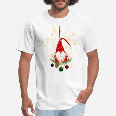 Gingerbread Christmas Elf - Men's T-Shirt