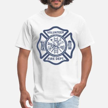 Volunteer Fire Department FIREFIGHTER VOLUNTEER FIRE DEPARTMENT RESCUE EMT G - Men's T-Shirt