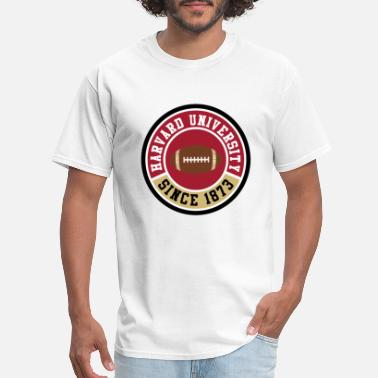 Harvard-university Harvard University Football Tshirt - Men's T-Shirt