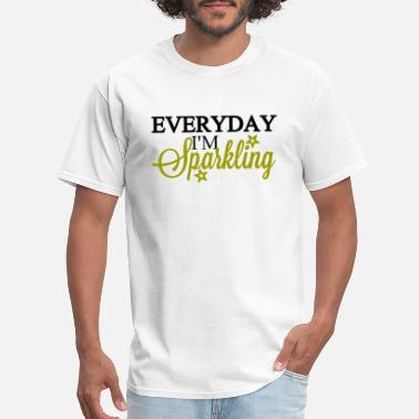 Everyday People everyday i'm sparkling - Men's T-Shirt