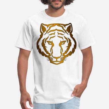 Tiger Face - Men's T-Shirt