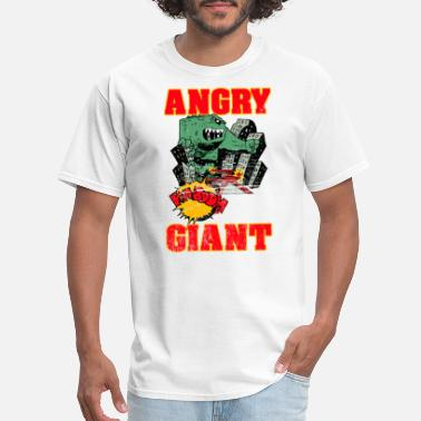 Giant Angry Giant On Rage - Men's T-Shirt