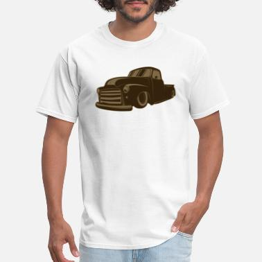 Bronco Vintage Cars Rat Rod - Men's T-Shirt