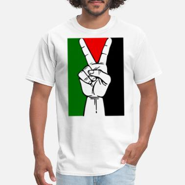 Free Palestine PEACE IN PALESTINE FREE PALESTINE MENS WOMENS Hi - Men's T-Shirt
