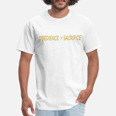 Obedience Obedience - Men's T-Shirt