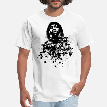 White Rapper Krs One The Teacher Rapper White teacher - Men's T-Shirt